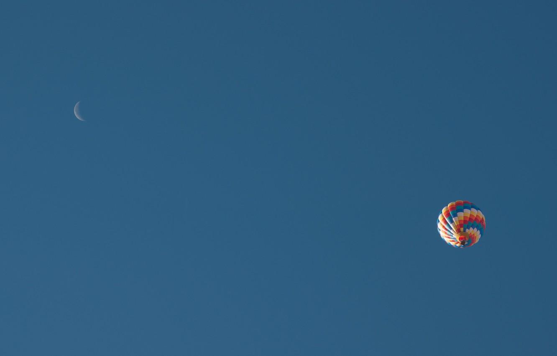 Фото обои небо, воздушный шар, спорт