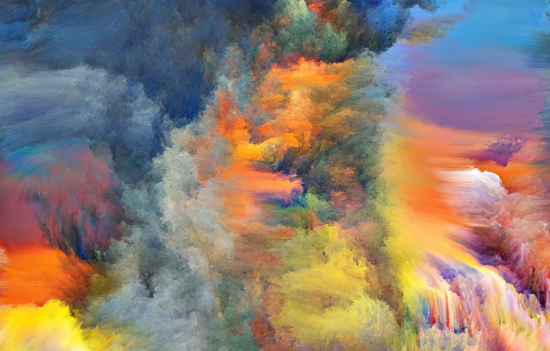 Обои яркость, Цвет, дым. Абстракции foto 15