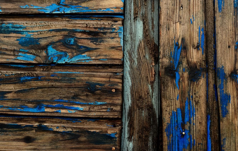 Фото обои доски, краска, текстура