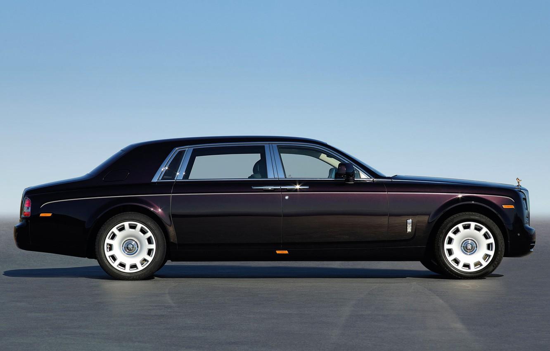 Фото обои небо, Rolls-Royce, лимузин, молдинг