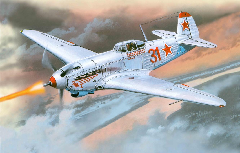 Обои истребитель, ВВС РККА, советский, великая отечественная война, одномоторный, ссср. Авиация foto 17