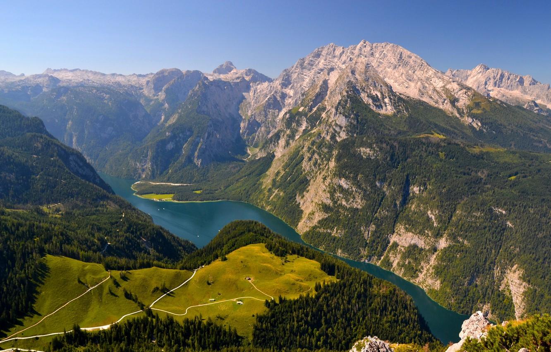 Обои австрия, alps, тироль, austria, tirol, Lake plansee, озеро планзее. Пейзажи foto 19