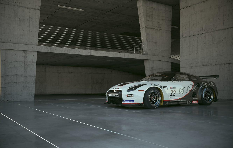 Фото обои Nissan GT-R, Andrej Stefancik