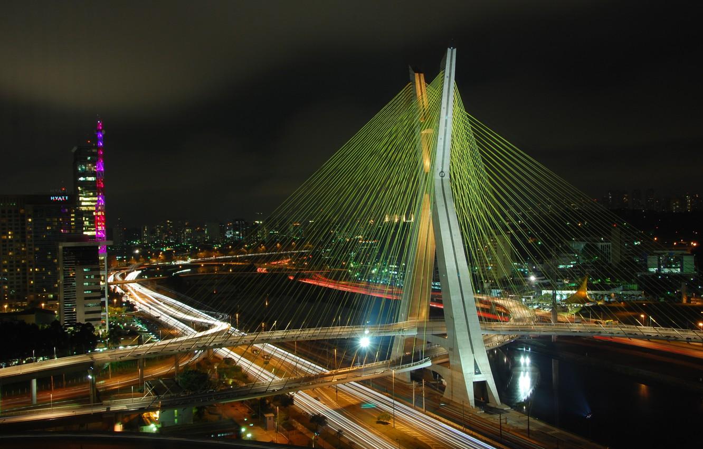 Обои sao paulo, мосты, Бразилия. Города foto 7