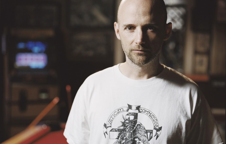Фото обои композитор, электронная музыка, moby