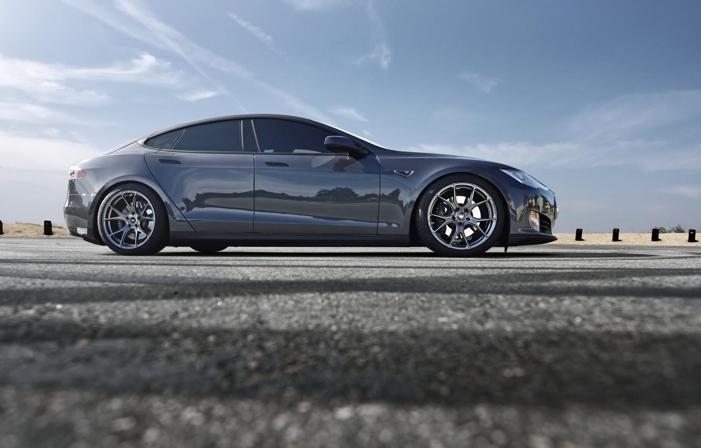 Фото обои car, hq wallpaper, model s, tesla