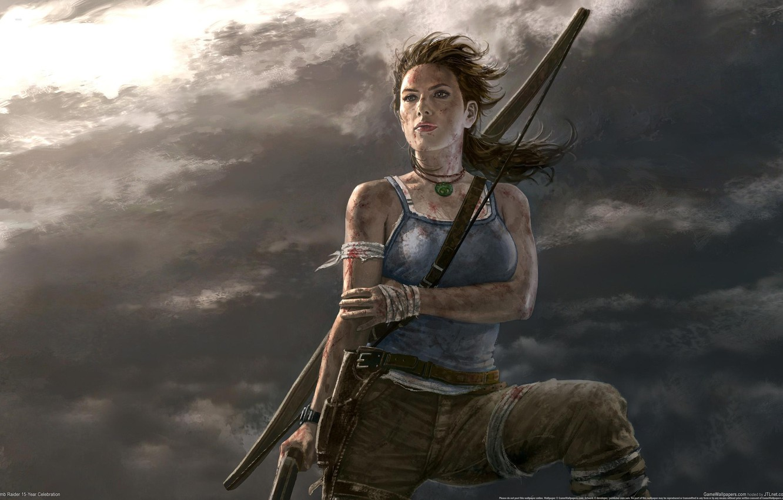 Фото обои Tomb Raider, Lara Croft, Расхитительница гробниц