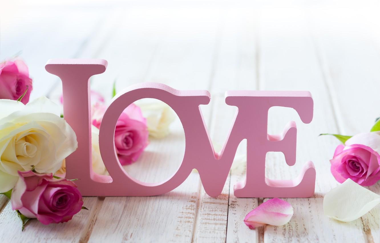 Фото обои любовь, цветы, розы, valentine's day