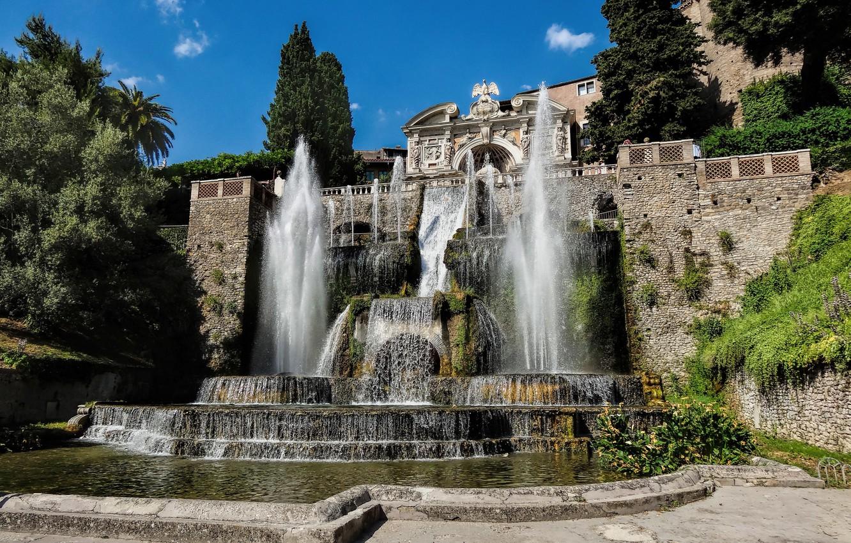 фонтан тиволи в риме фото главное