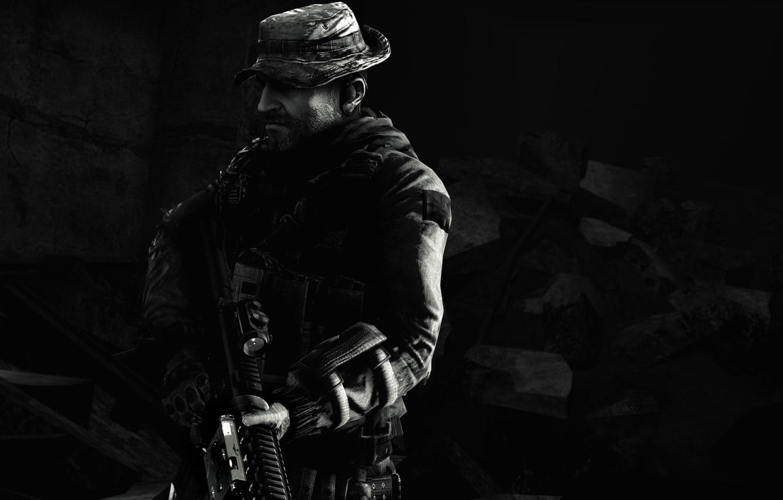 Фото обои Call of Duty: Modern Warfare, S.A.S, John Price, Зов долга