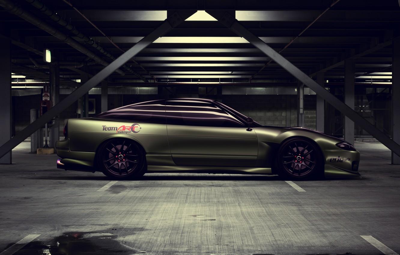 Фото обои Тюнинг, Ниссан, Nissan, S13, Drift Spec Vector, by Edcgraphic, 200SX, Team ART