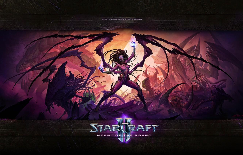 Обои starcraft, queen of blades, Королева Клинков, сара керриган. Игры foto 17