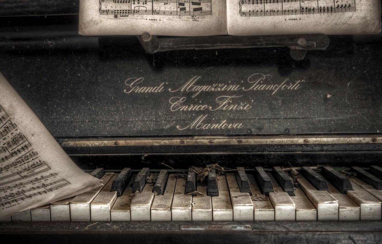 фото ноты для пианино закрытыми