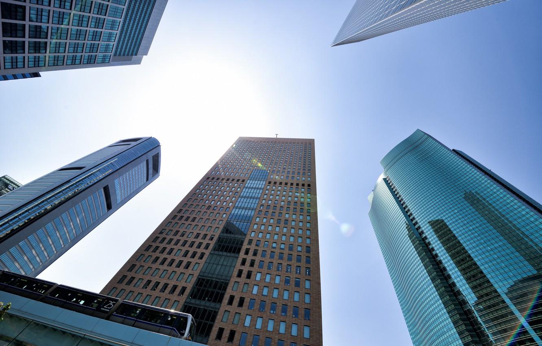 Обои небоскребы, высотки, здания. Города foto 8