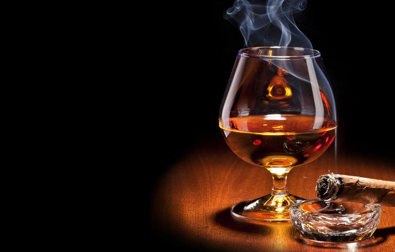 Обои стекло, дым, бокал. Абстракции foto 9