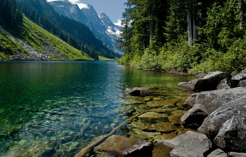 Обои красиво, Горная река. Природа foto 7