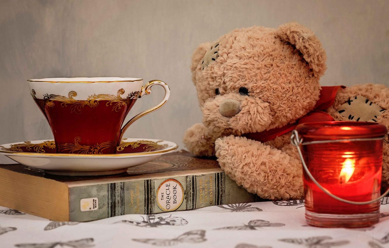 картинки мишек с чаем любое