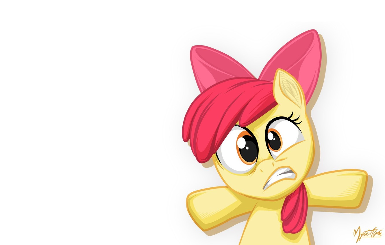 Фото обои пони, My little pony, Apple Bloom, MysticAlpha