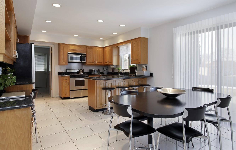 Фото обои дизайн, стиль, комната, интерьер, кухня, столовая