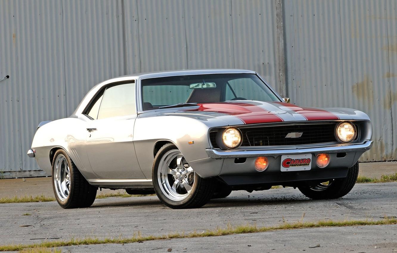 Фото обои Chevrolet, 1969, Camaro, Performers