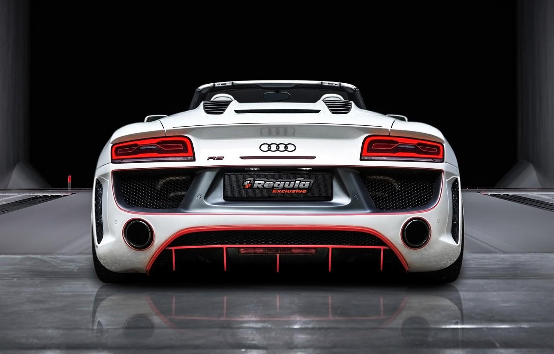 Фото обои Audi, Ауди, Зад, Spyder, Tuning, Regula Exclusive