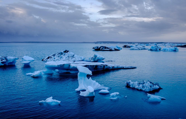 Обои ледниковая лагуна йёкюльсаурлоун, Исландия. Природа foto 19