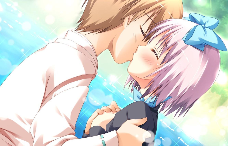 Днем ввс, открытки поцелуи аниме