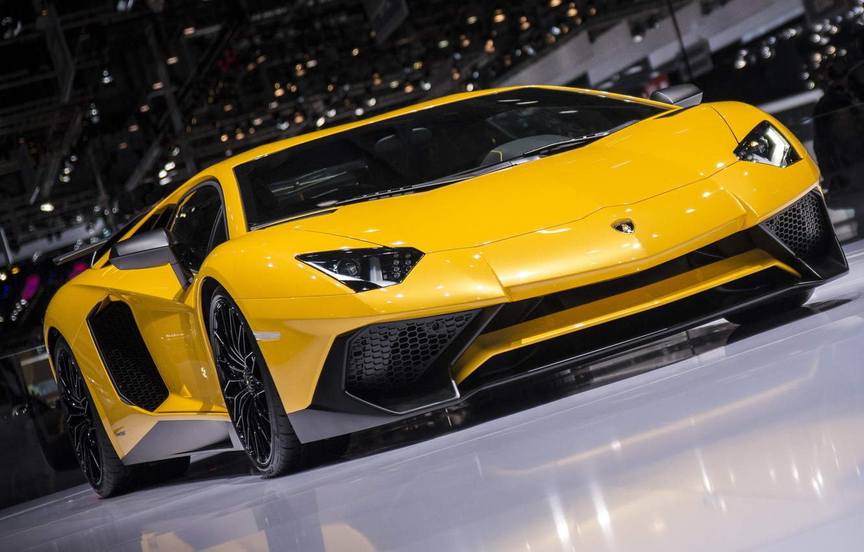 Фото обои Lamborghini, Aventador, LP750-4
