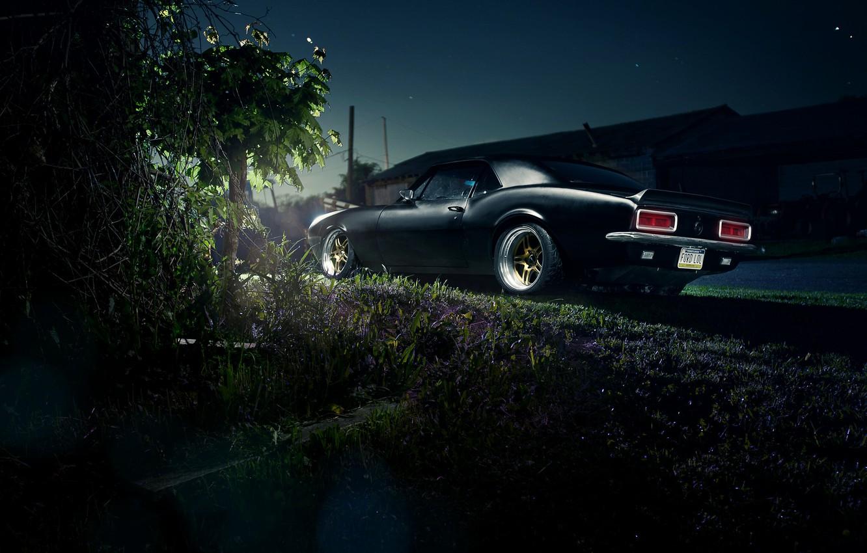Фото обои Chevrolet, Camaro, шевроле, мускул кар, muscle car, rear, камаро, LSX 454