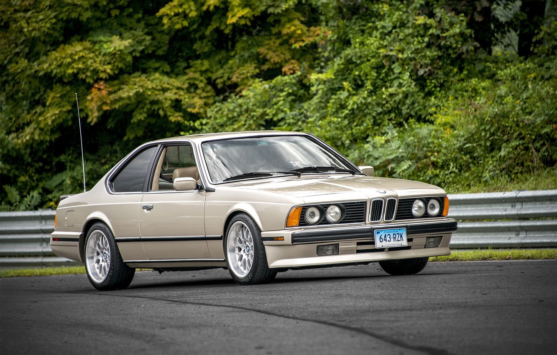 Фото обои BMW, E24
