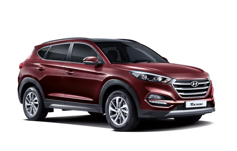 Фото обои Hyundai, 2015, Tucson, хундай, KR-spec, туссан