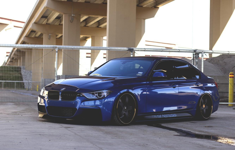 Фото обои BMW, tuning, 335i, F30, stance