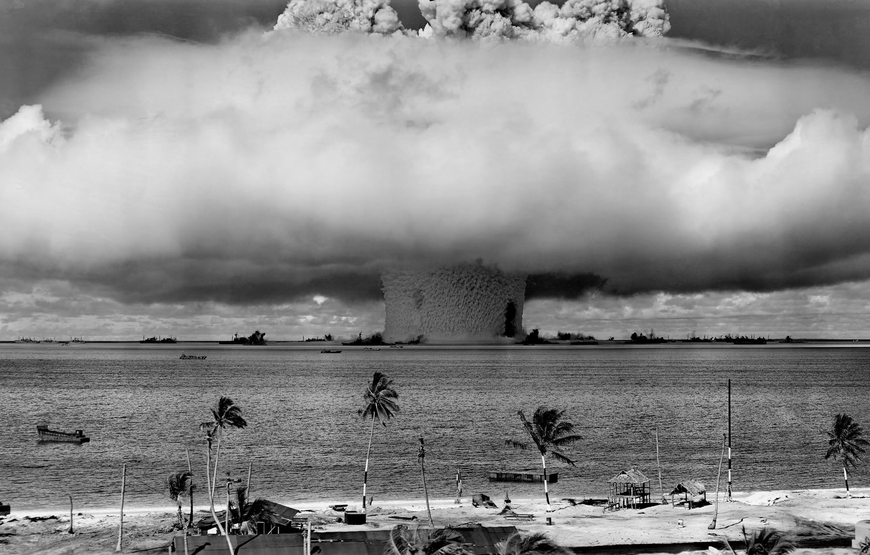 Фото обои оружие, ядерный взрыв, ударная волна, nuke