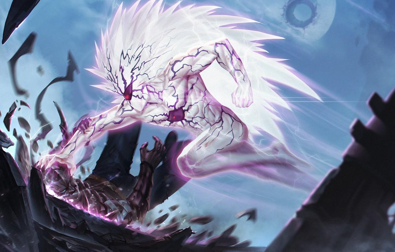 Фото обои anime, art, cabalfan, One Punch Man, lord boros