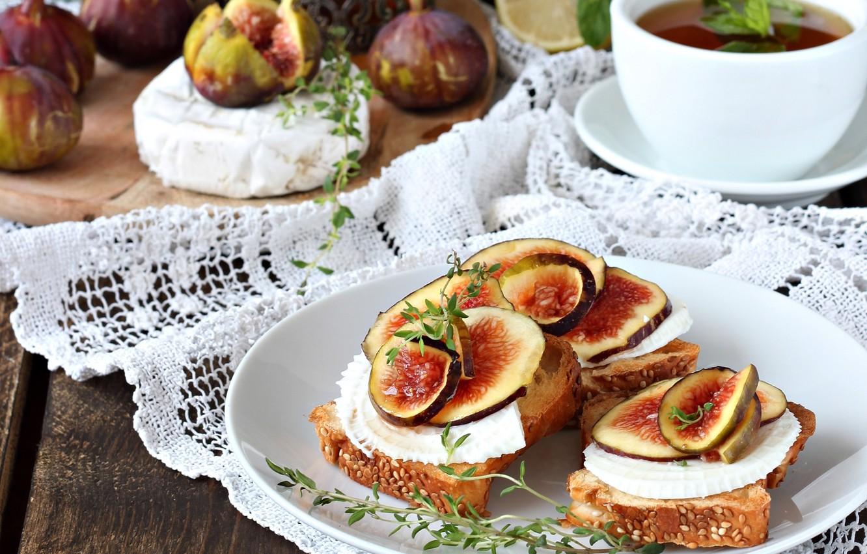 Чай бутерброды картинки