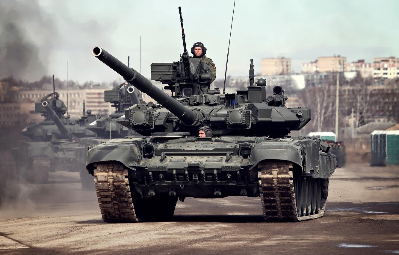 Фото обои танк, боевой, 9 мая, Т-90А, Алабино, репетиция, парад победы, Основной