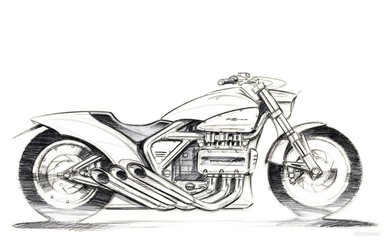 Фото обои мотоциклы, мото, Honda, moto, motorcycle, motorbike, Rune 2004, Rune, Cruiser - Standard