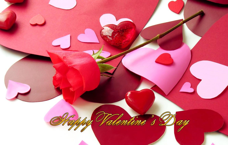 Фото обои фото, Цветы, Сердце, Розы, Праздник, День святого Валентина