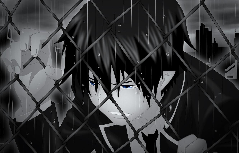 Фото обои аниме, парень, Ao no Exorcist, Rin Okumura, Синий экзорцист
