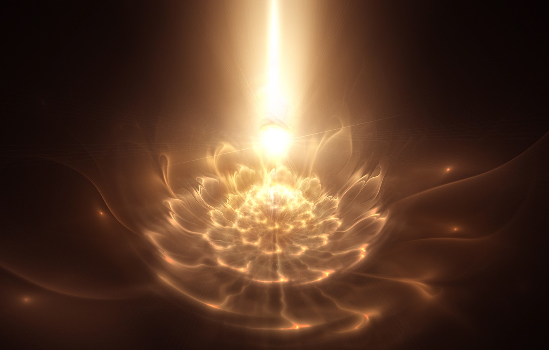 Обои фракталы, Фрактальный узор, свечение. Абстракции foto 10