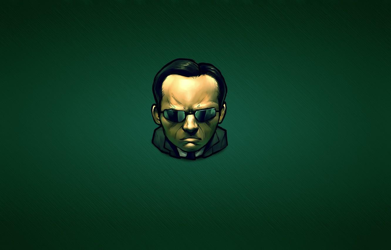 Обои the matrix, очки, матрица, hugo weaving, agent smith. Фильмы foto 10