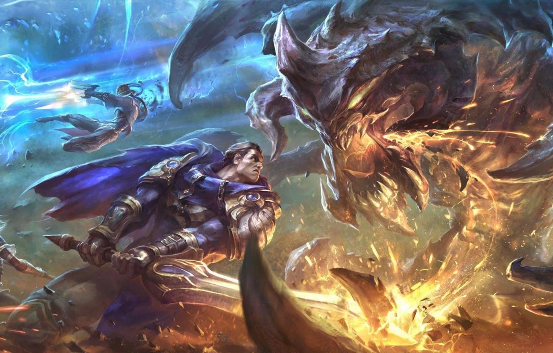 Фото обои lol, League of Legends, jinx