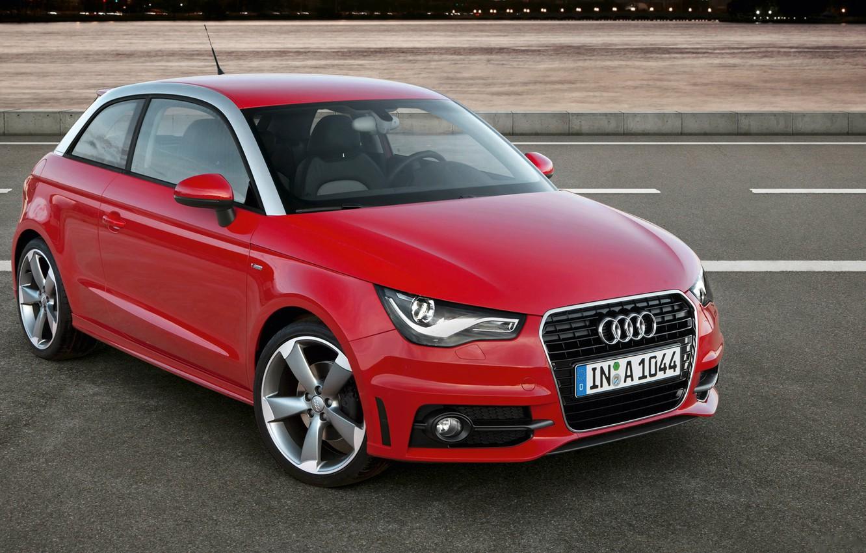 Фото обои Audi, Red, Class S