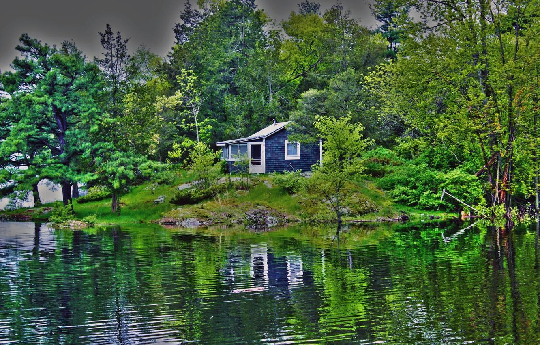 Картинки дом с природой