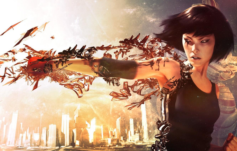 Фото обои Electronic Arts, DICE, Faith, Mirror's Edge: Catalyst