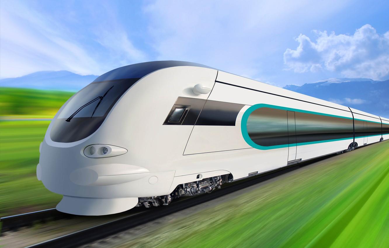 Фото обои поезд, скорость, красота, локомотив