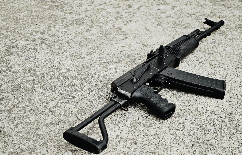 Фото обои фон, ружьё, карабин, Сайга, самозарядное