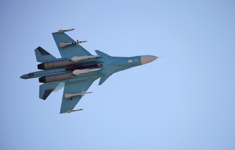 Фото обои небо, полет, время, самолет, истребитель, стрельба, бомбардировщик, ВВС, поколения, защитник, пилотаж, ОКБ, российский, Сухого, фронтовой, …