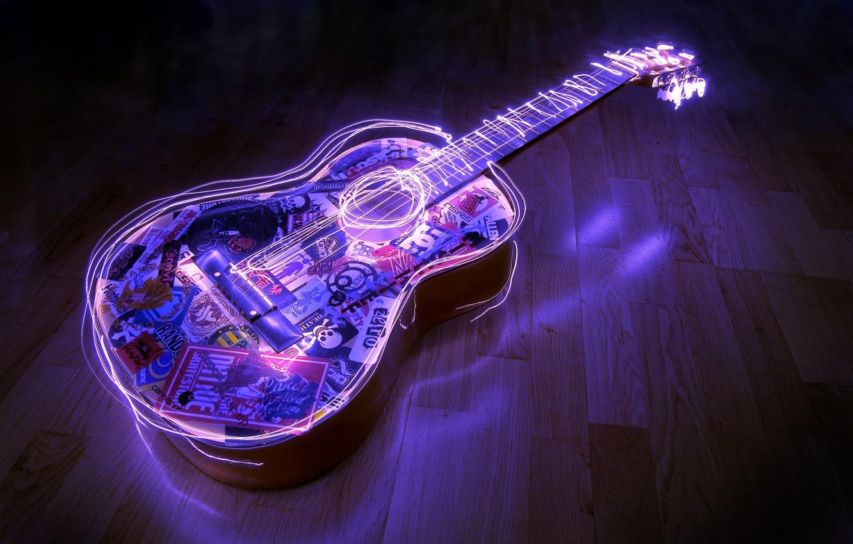 Обои Гитара. Разное foto 8