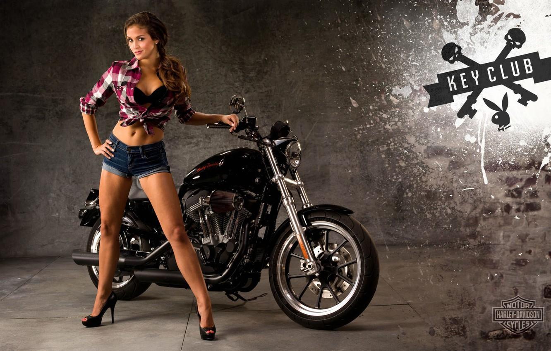 Обои Мотоцикл, Harley davidson, Пейзаж. Мотоциклы foto 7